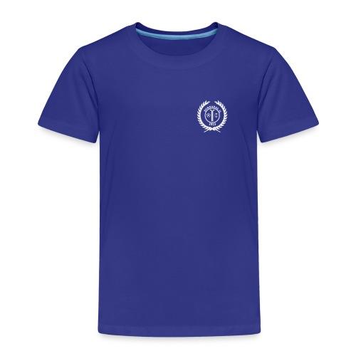 Premium T-shirt barn - blå - Premium T-skjorte for barn
