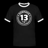 T-Shirts ~ Männer Kontrast-T-Shirt ~ Bequemes Kontrast-Shirt für Sudhaus-13-Freunde