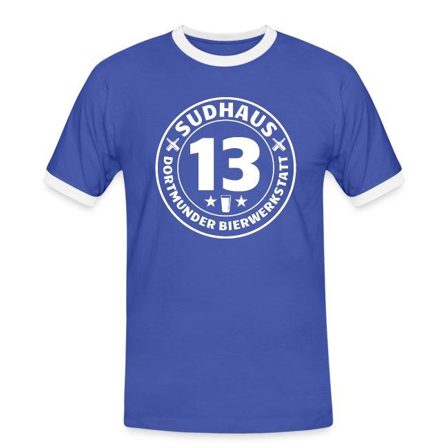 Bequemes Kontrast-Shirt für Sudhaus-13-Freunde