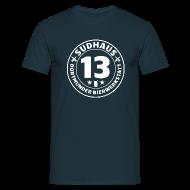 T-Shirts ~ Männer T-Shirt ~ Simples Shirt für Sudhaus-13-Freunde