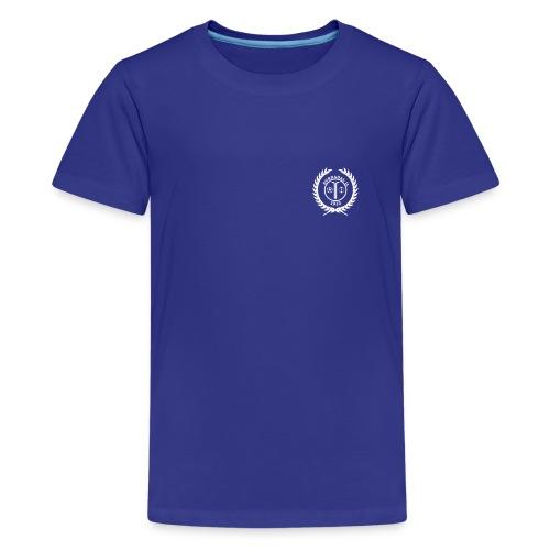 SIL- Premium Ungdomsskjorte - Premium T-skjorte for tenåringer