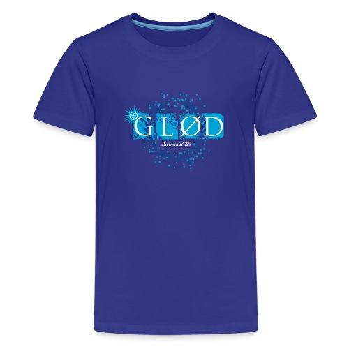 Glød  Premium T-shirt ungdom, blå - Premium T-skjorte for tenåringer