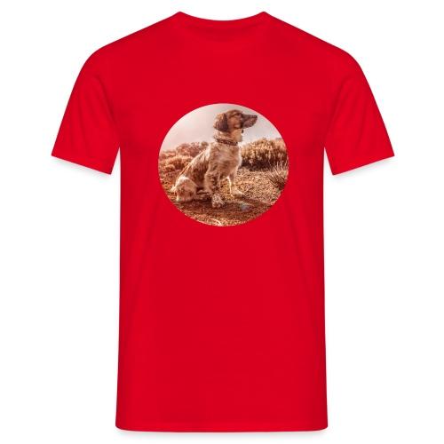 Hund Ivo - Männer T-Shirt