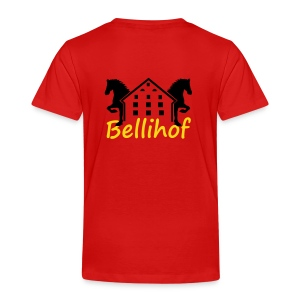 Bellihof Kinder T-Shirt rot - Kinder Premium T-Shirt