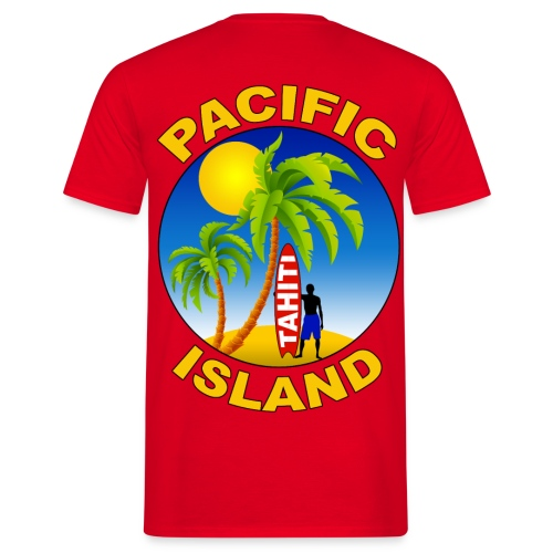 Tahiti Pacific Island - Men's T-Shirt