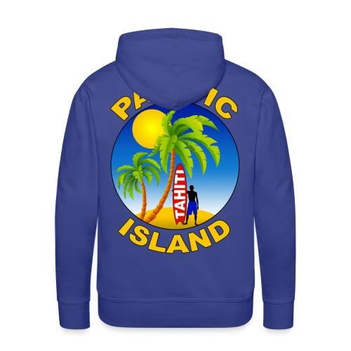 Tahiti Pacific Island - Men's Premium Hoodie