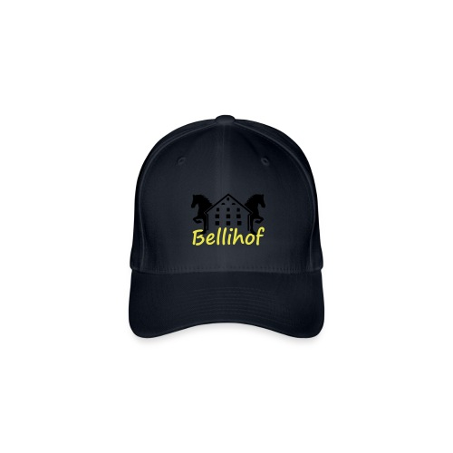 Bellihof Cap rot - Flexfit Baseballkappe