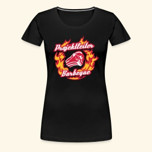 Grill-Shirt Projektleiter Barbeque, Lady - Frauen Premium T-Shirt
