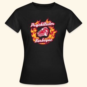Grill-Shirt Projektleiter Barbeque, Girlie - Frauen T-Shirt