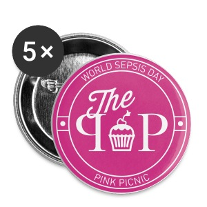 #ppicnic Cupcake Button - Buttons medium 32 mm