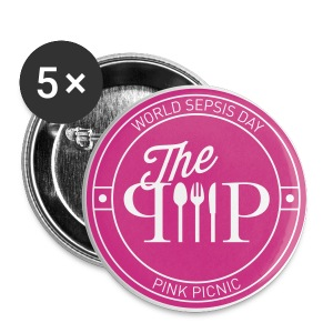 #ppicnic Dinner Button - Buttons small 25 mm
