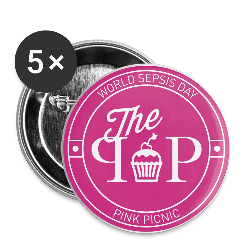 #ppicnic Cupcake Button - Buttons small 25 mm