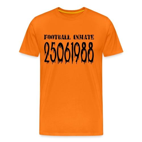 Football Inmate 25061988 - Mannen Premium T-shirt