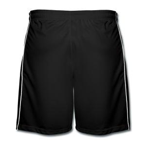 Korte zwarte broek voor jongens - Mannen voetbal shorts