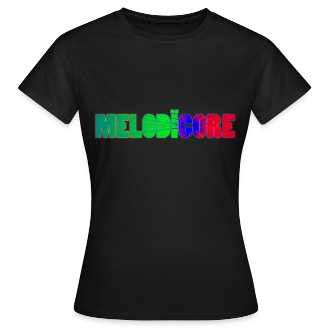 Melodïcore shirt with biohazard