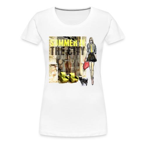 SUMMER IN THE CITY Damen Premium  - Frauen Premium T-Shirt