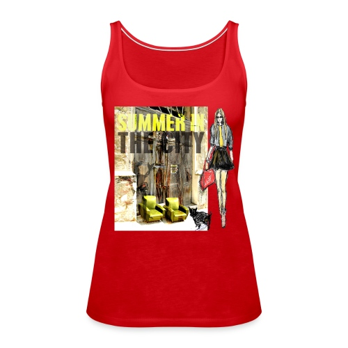 SUMMER IN THE CITY Damen TOP - Frauen Premium Tank Top