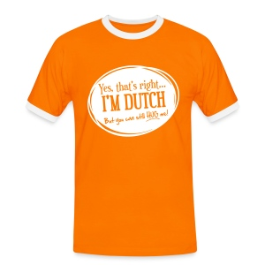 Dutch Hug - Baseball  - Men's Ringer Shirt