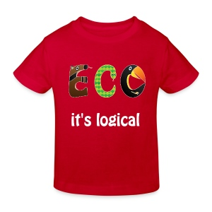 ECO it's logical Shirts - Kids' Organic T-shirt