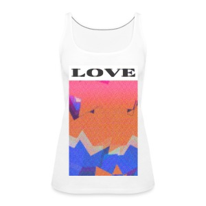 BTI 'Love' Girls T-Shirt - Women's Premium Tank Top