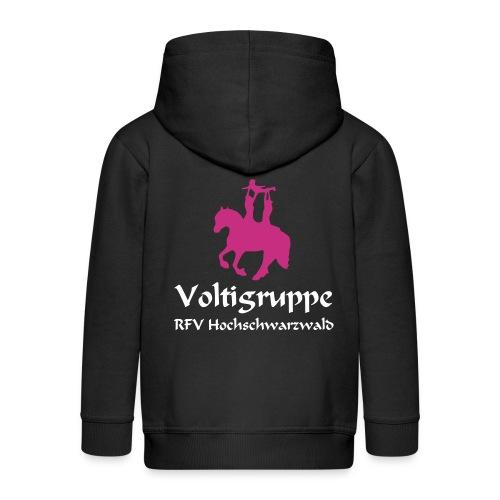 Volti Hochschwarzwald Kinder Kaputzenjacke *Samt* - Kinder Premium Kapuzenjacke