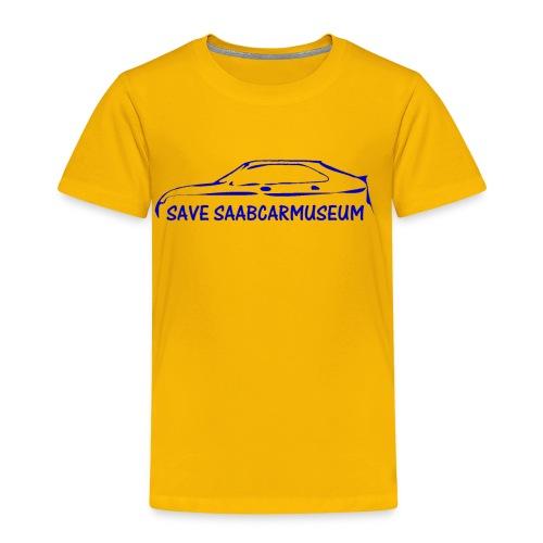 SAVE SAABCARMUSEUM - Kinder Premium T-Shirt
