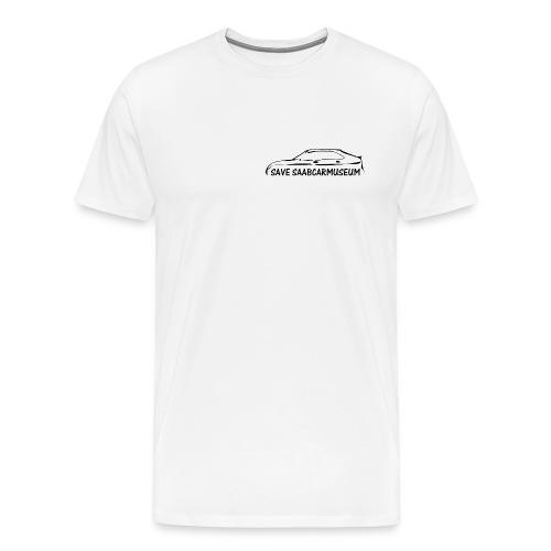 SAVE SAABCARMUSEUM - Männer Premium T-Shirt