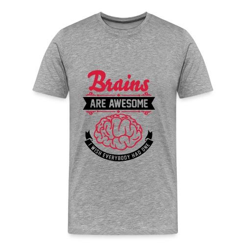 Skilyx : Tee-Shirt Homme Gris - T-shirt Premium Homme