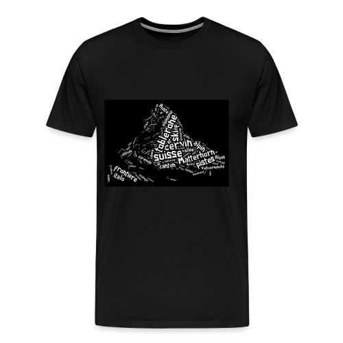 Toblerone - T-shirt Premium Homme