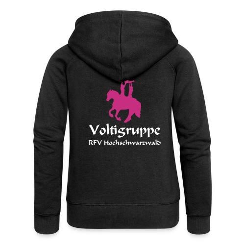 Volti Hochschwarzwald Damen Jacke *Samt* - Frauen Premium Kapuzenjacke