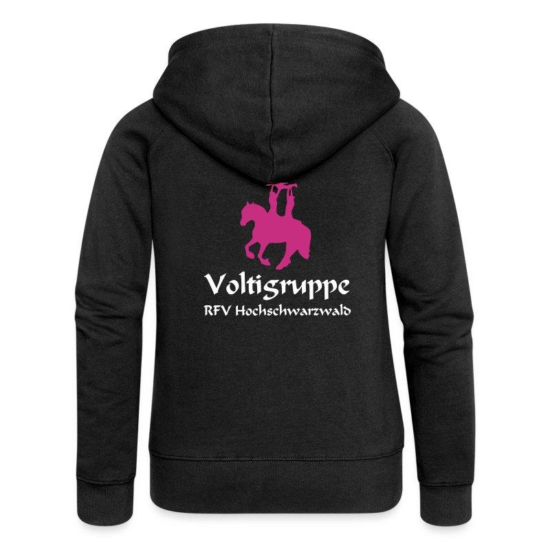 Volti Hochschwarzwald Jacke *Samt* - Frauen Premium Kapuzenjacke