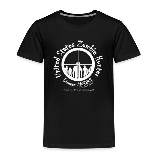 Children's T Shirt - United States Zombie Hunter - Kids' Premium T-Shirt