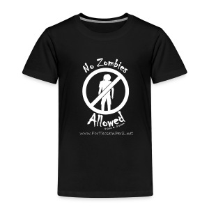 Children's T Shirt - No Zombies Allowed - Kids' Premium T-Shirt