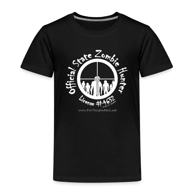 Children's T Shirt - Official State Zombie Hunter