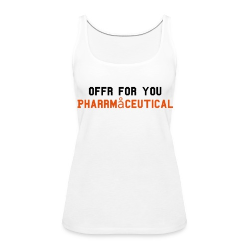 Tank Top - Pharmaceutical - Frauen Premium Tank Top