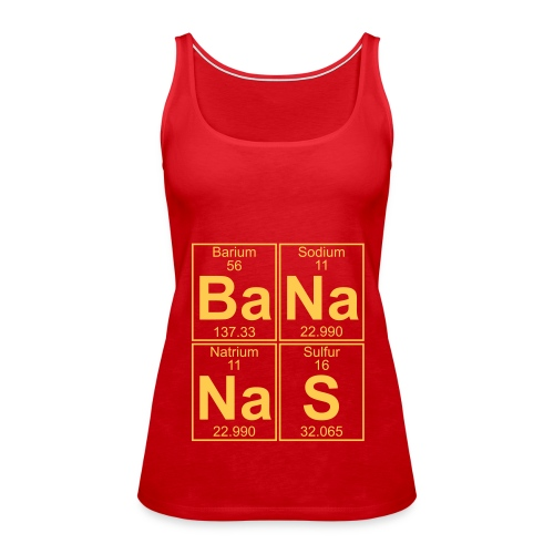 Ba-Na-Na-S (bananas) - Women's Premium Tank Top