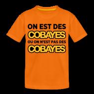 Tee shirts ~ T-shirt Premium Ado ~ T-Shirt Couleur Ado On est Cobayes