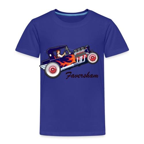 Faversham Hot Rod - Kids' Premium T-Shirt