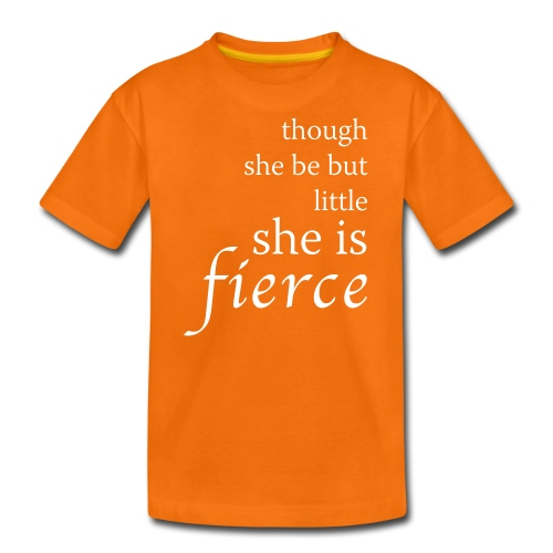 Fierce Teenage T-Shirt - Teenage Premium T-Shirt