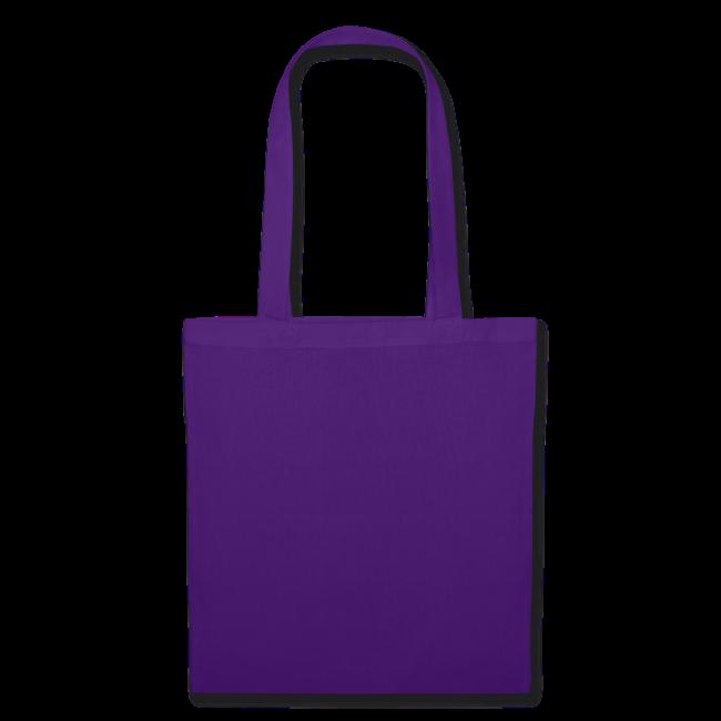 stofftasche, lila, und wo bleibt eigentlich das sommerloch?
