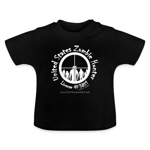 Baby's T Shirt - United States Zombie Hunter - Baby T-Shirt