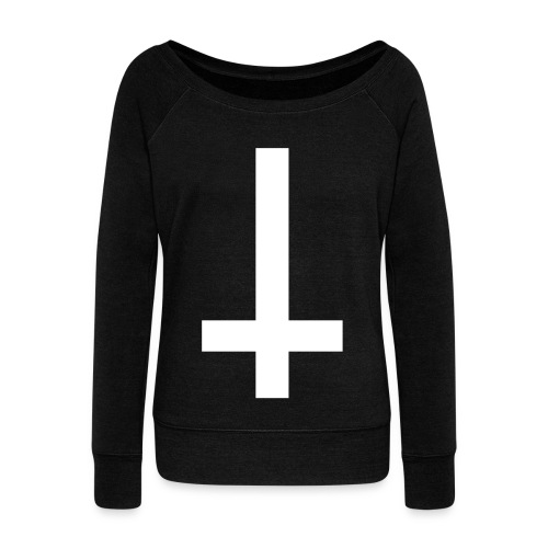 Antichrist - Women's Boat Neck Long Sleeve Top
