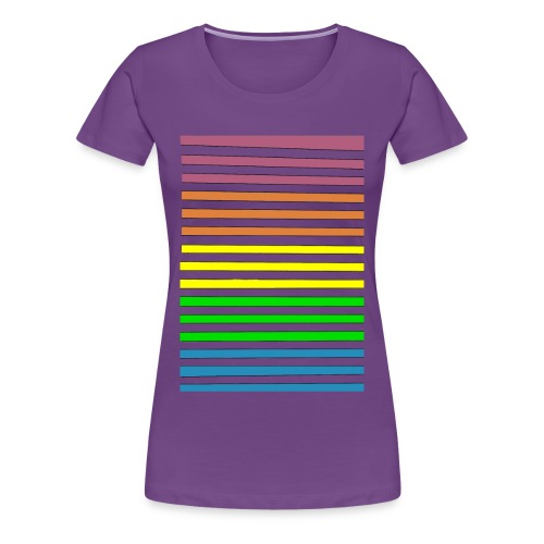 Rayure Pingouak - Femme - T-shirt Premium Femme