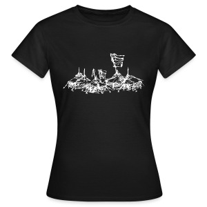 Mein Dorf T-Shirt - Frauen T-Shirt