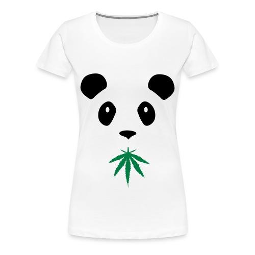 V9L Happy Panda Womens Tee - Women's Premium T-Shirt