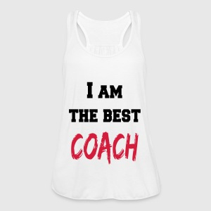 I am the best coach Tops - Vrouwen tank top van Bella