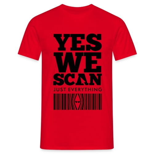 Yes we scan - Camiseta hombre