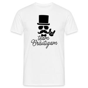 Team Bräutigam - Gentleman - Männer T-Shirt