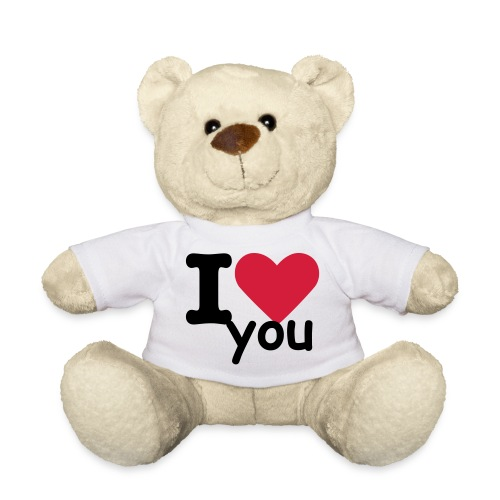 beer I LOVE YOU  - Teddy
