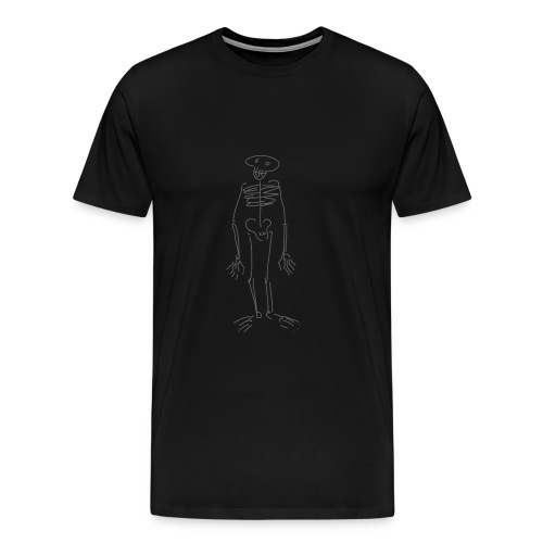 skeleton fifteen - Men's Premium T-Shirt